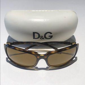Dolce & Gabbana women's tortoise sunglasses